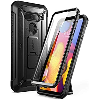 more photos 7a9d8 3b5de SUPCASE Full-Body Protective Case for LG V40, LG V40 ThinQ, with Built-in  Screen Protector Kickstand &Holster Clip Design for LG V40/LG V40 ThinQ  2018 ...