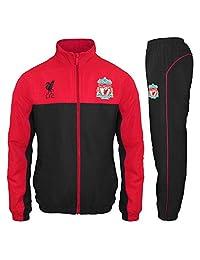 Liverpool FC Official Soccer Gift Mens Jacket & Pants Tracksuit Set XL