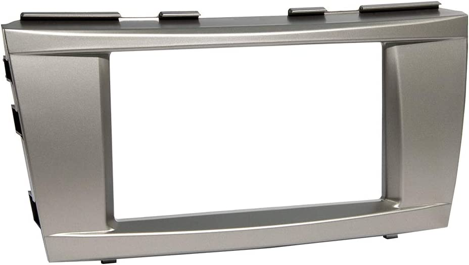 Dynalink DNL-0711C Double DIN Dash Installation Kit for 2006-2011 Toyota Camry Vehicle (Silver)