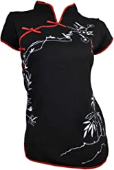 a4564a0ea0 Amazing Grace Elephant Co. Sexy Chinese Dress Top Modern Qipao Cheongsam Top