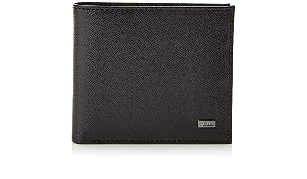 Amazon.com: Tous Cartera de hombre Berlin, Mens Wallet, Black (Negro): Shoes