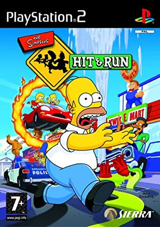 THE SIMPSONS HIT & RUN (ISO) (PS2)