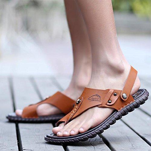 para Sandalias Sandalias Zapatos De Casuales Playa De Brown Hombres Verano vxIEIP