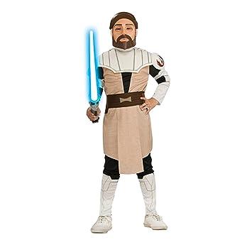 Star Wars disfraz Clone Wars Obi Wan Kenobi M 5-6 años Jedi del ...