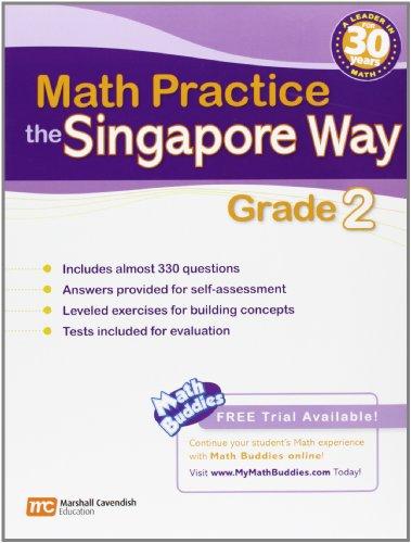 Singapore Math Practice: Grade 2 book by Marshall Cavendish