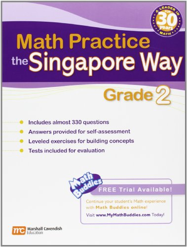 - Math Practice the Singapore Way, Grade 2