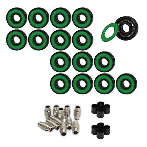 [AMPHETAMINE Roller Hockey Bearings Inline Skate SPEED KIT Abec 7] (Hockey Wheel Axle)