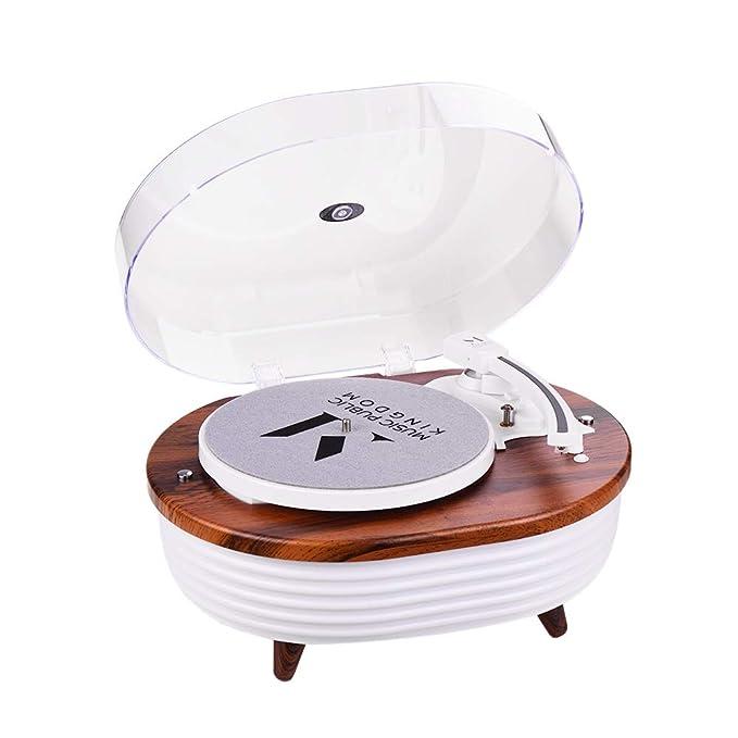 Colorido reproductor de discos de iluminación de 2 velocidades (33 ...