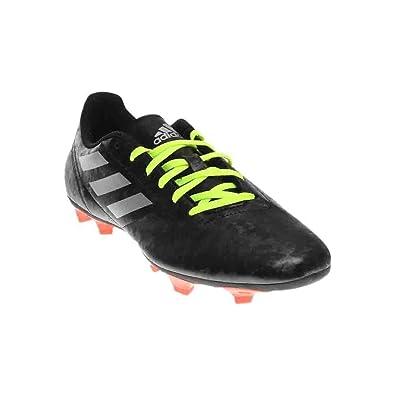 cheaper 9eea9 08e55 adidas Mens Conquisto II FG BlackSilver MetallicSolar Red Athletic Shoe