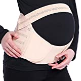 ONine Maternity Belt, Pregnancy Pelvic Support, Waist Back Abdomen Band, Breathable Belly Band for Pregnancy, M