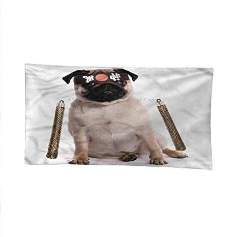 Amazon.com: Pugspace tapestrywall Hanging tapestryMartial ...