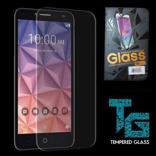 "JITTERBUG SMART (5.5"" SCREEN) Tempered Glass, JITTERBUG SMART Premium Tempered Glass Protector Shield Touch, Anti-Scratch, Fingerprint, Bubble Free, Ultra-clear + Stylus (Soft Finger Touch Stylus)"