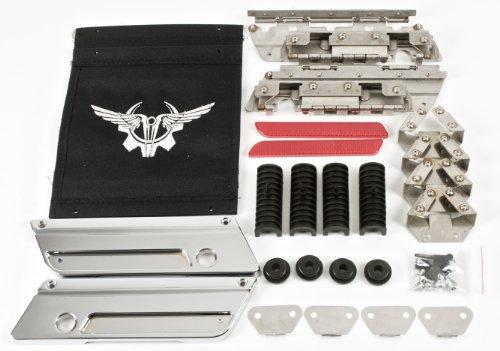 Chrome Latch Kit for 1993-2013 Harley Davidson Touring Sa...