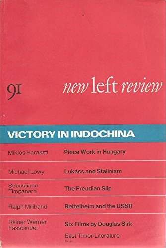 New Left Review (May-June 1975): Victory in Indochina -