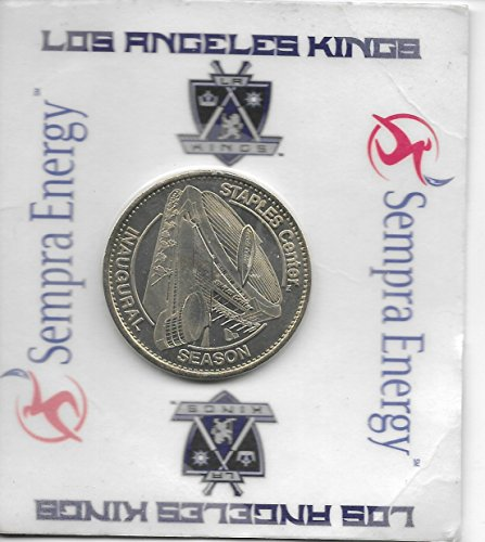 Los Angeles Kings Staples Center Inaugural Season Commemorative Coin By Sempra Energy