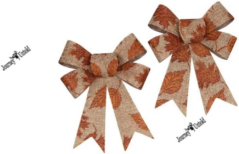 Decorative Autumn Harvest Ribbon 3-yd Spools Fall Halloween