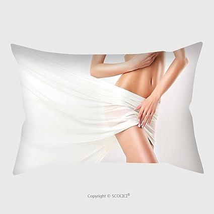 Amazon Custom Microfiber Pillowcase Protector Perfect Slim Unique Plastic Pillow Case Covers