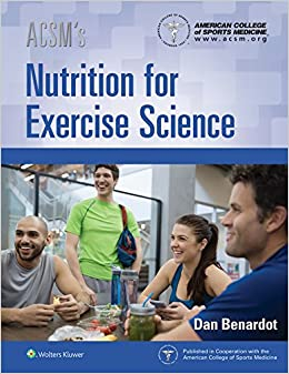 Acsm's Nutrition For Exercise Science por American College Of Sports Medicine epub