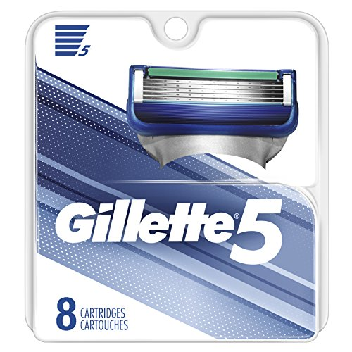 Gillette 5 Men's Razor Blade Refills, 8 Count