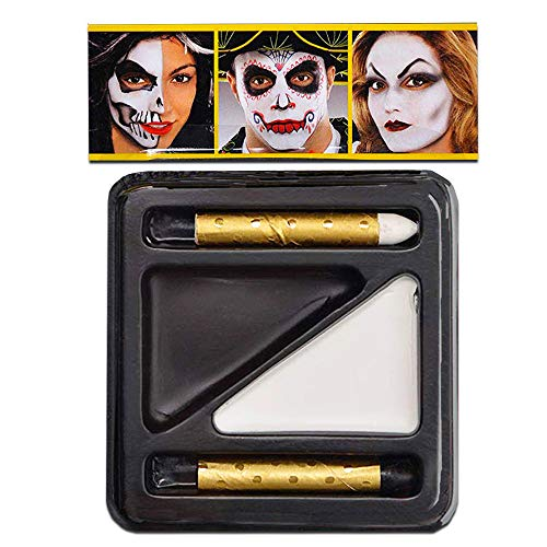 Amscan Black and White Makeup Kit -