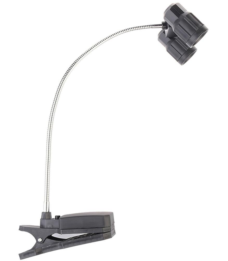 Clip-On de doble Barbacoa de luces Rotación de 360 grados alimentado por batería Luz Grill: Amazon.es: Jardín