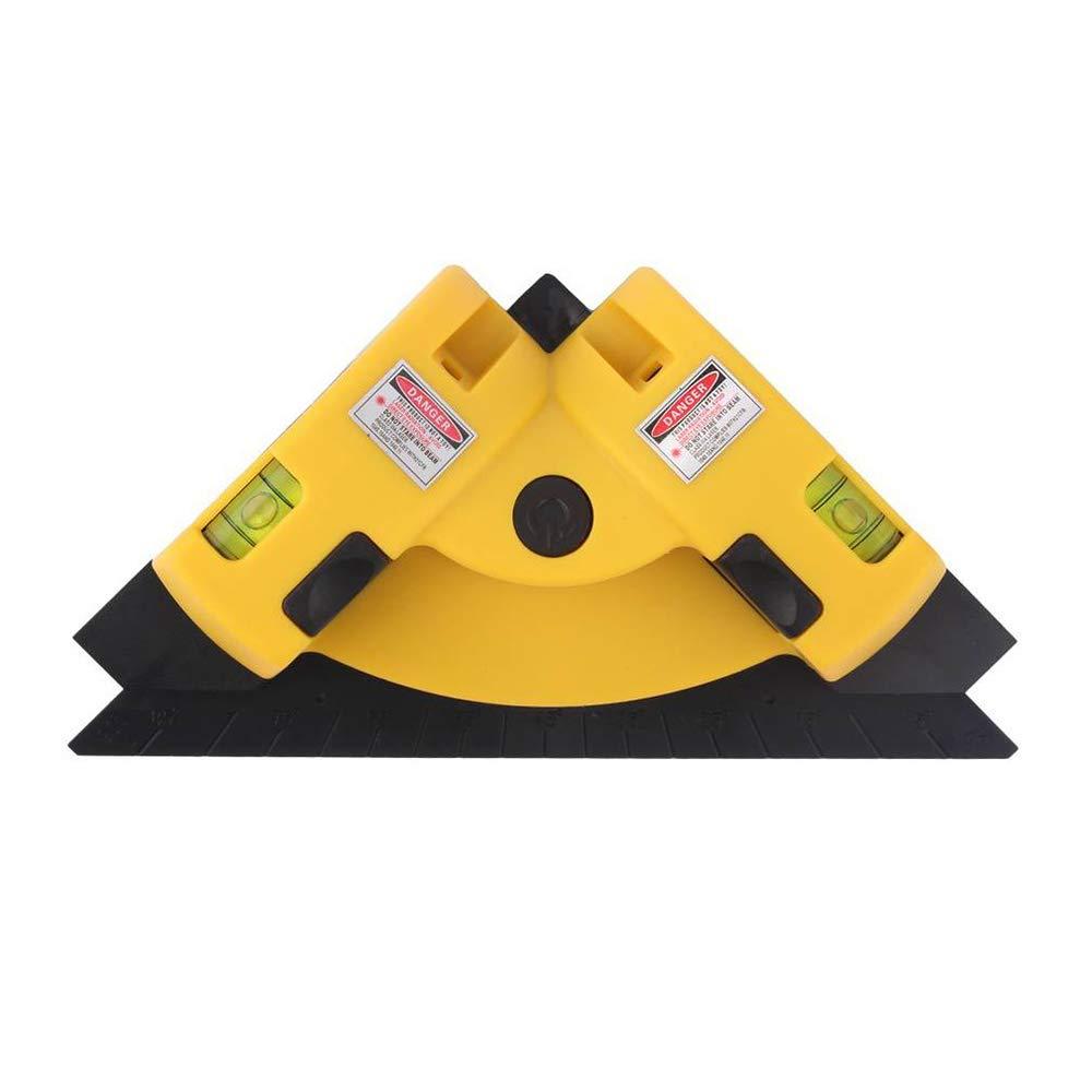 Vertical llenado Medidor, Laser Medidor de ganancia de proyecció n lí neas, rechtwinkliges Medidor de 90 grados, doble Diodo, para trabajar de –  Tiritas/Azulejos y madera Laser Medidor de ganancia de proyección líneas