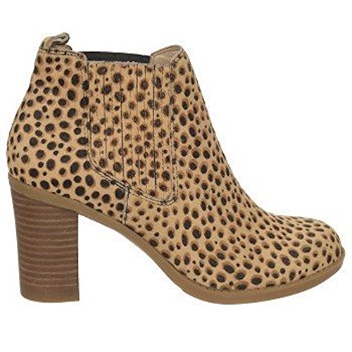 DR. SCHOLL'S ORIG COLLECTION Women's London Bootie (Tan/Black Leather 8.5 M) from Dr. Scholl's