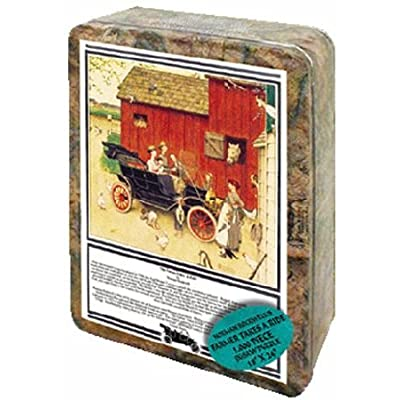 Puzzle Tin Norman Rockwell - Farmer Take Ride Jigsaw Puzzle 1000pc: Toys & Games [5Bkhe0302957]