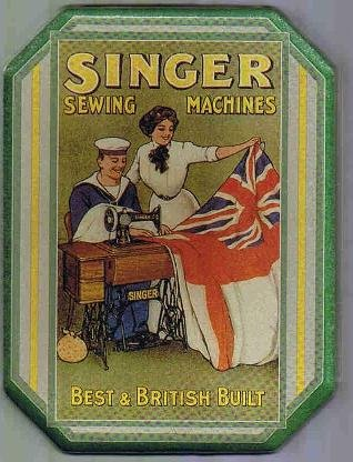 UPC 078678595623, Collectible Tin: Singer Sewing Machines (Tin ONLY!)