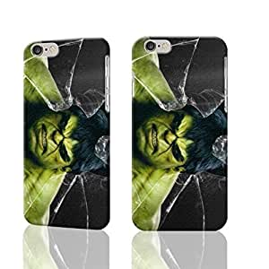"""Hulk 3D Rough iphone 6 -4.7 inches Case Skin, fashion design image custom iPhone 6 - 4.7 inches , durable iphone 6 hard 3D case cover for iphone 6 (4.7""""), Case New Design"""