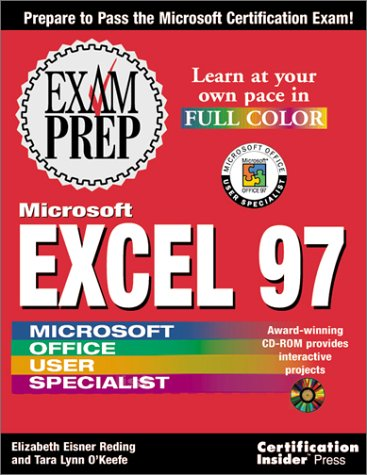 Download Microsoft Excel 97 Exam Prep book pdf | audio id