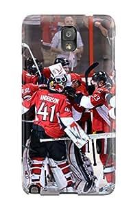 JeffreyLynne Snap On Hard Case Cover Ottawa Senators (45) Protector For Galaxy Note 3