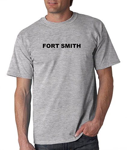 FORT SMITH - City-series - Heather Grey Adult T-Shirt - size Small