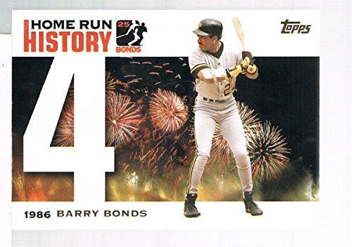 2005 Topps Barry Bonds Fan Giveaway #BB4 Barry Bonds 2005 Topps Barry Bonds