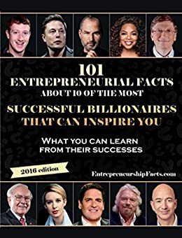 Entrepreneurial Facts Successful BILLIONAIRES Inspire ebook product image