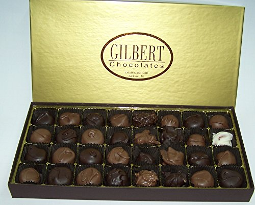 Gilbert Chocolates' Deluxe Assortment - 1 pound assortment of our milk and dark chocolate covered creams, nuts and caramels