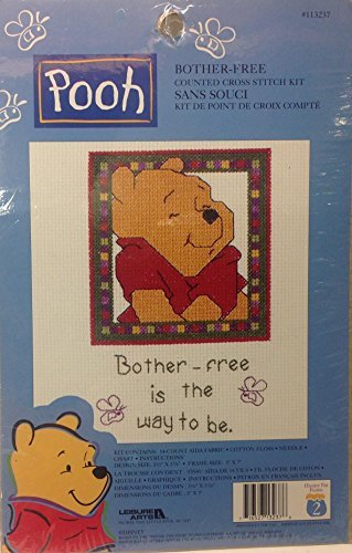 Walt Disney Home - Pooh Collection - Bother Free Counted Cross Stitch - Free Stitch Cross Disney