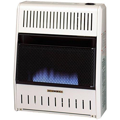 Procom MN200HBA Vent Free Natural Gas Blue Flame Space Heater - 20,000 BTU, Manual Control by ProCom