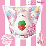 IBloom Marshmallow Bear Squishy Mr White Red