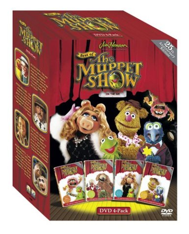 The Best of the Muppet Show (4-Pack) (Muppets Dvd Box Set)