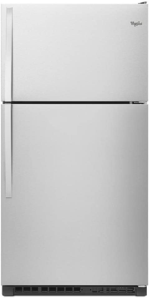 Whirlpool® 33-inch Wide Top-Freezer Refrigerator with Optional EZ Connect Icemaker Kit - 20.5 cu. ft
