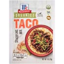 McCormick Organics Gluten Free Taco Seasoning Mix, 1 oz. (Case of 12),  The Perfect Taco Fiesta For Everyone - Even Gluten-Sensitive or Celiac Sufferers, USDA-certified Organic, Gluten-Free, Non-GMO