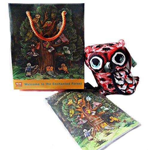 Owl Pals from the Enchanted Forest Gift Set 6