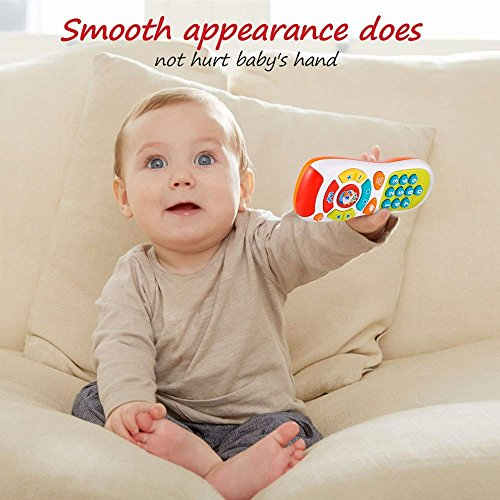 Large Product Image of VATOS Baby Remote Control Toy Learning Lights Remote for Baby 6 Months + Click& Count Remote Toys for One Year Old Boy Girl Baby Infant Toddler Toy