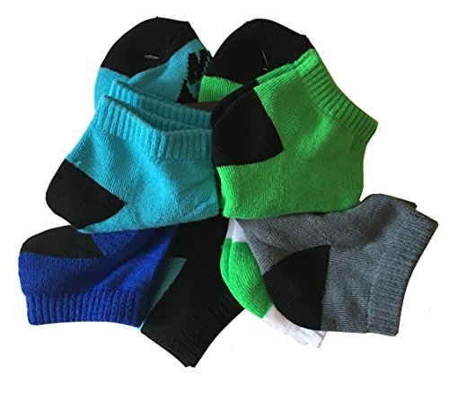 Nike Youth Boy's SB Low Cut 6 Pairs Socks Shoe Size 5Y-7Y/Sock Size 9-11 (Nike Youth Sb Shoes)