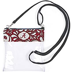 Alabama Crimson Tide Clear Gameday Crossbody Bag