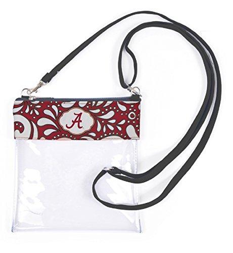 Alabama Crimson Tide Clear Gameday Crossbody Bag