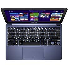 """Asus X205TA-UH01-BK Notebook, Intel Z3735F Quad-Core, 1.33 GHz, 32 GB, Intel HD Graphics, Windows 8, Dark Blue, 11.6"""""""