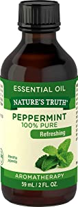 Nature's Truth Essential Oil, Peppermint, 2 Ounce