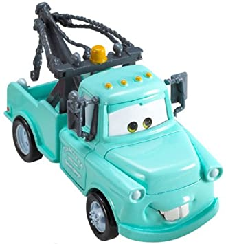 amazon com cars mater blue toys games